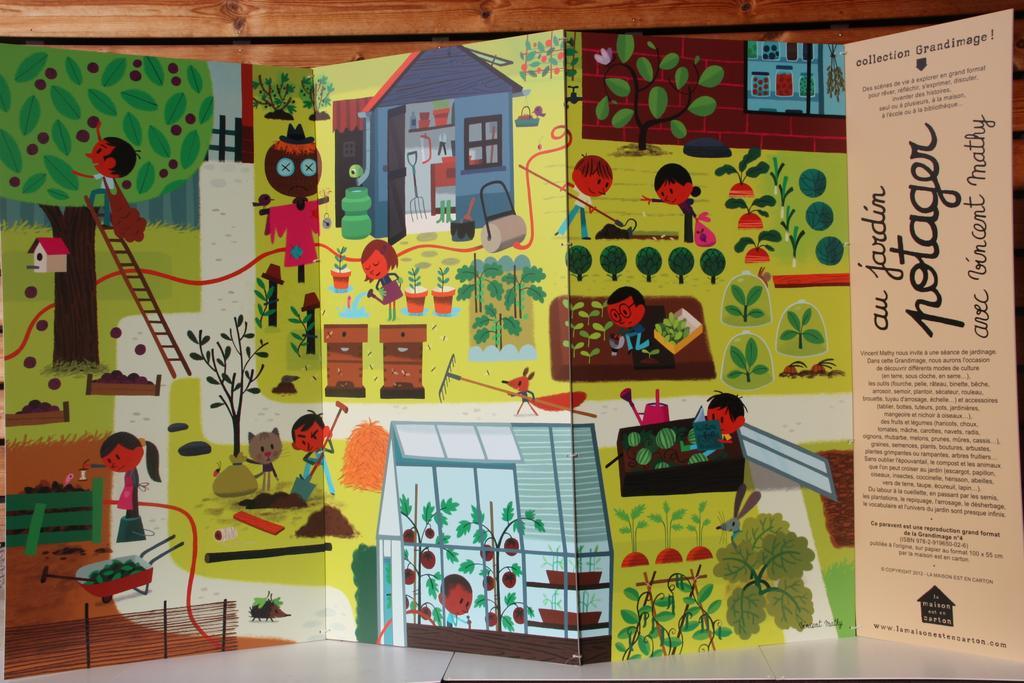 Au jardin potager avec Vincent Mathy : grandimage |