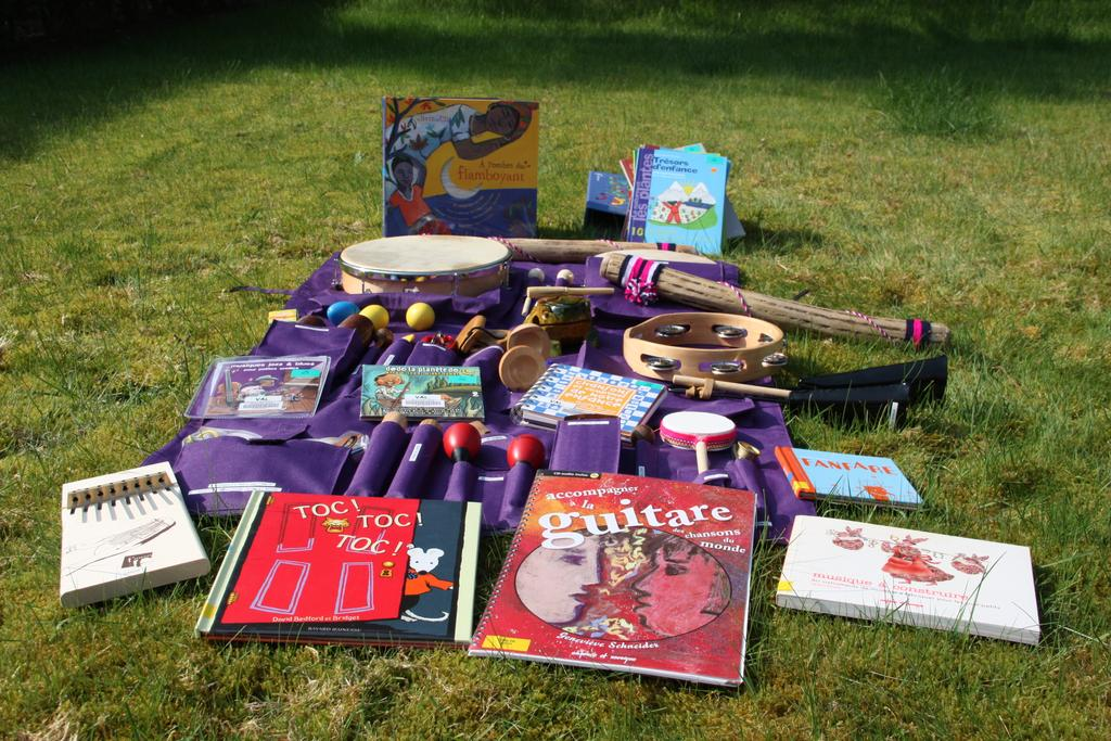 A la découverte des instruments de musique : initiation musicale |