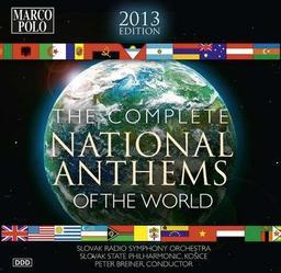 Intégrale des hymnes nationaux du monde. édition 2019 = The complete National anthems of the world / Peter Breiner   Breiner, Peter. Chef d'orchestre