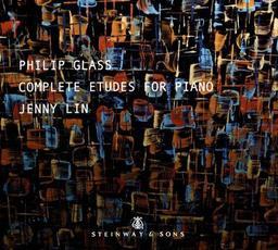 Complete Etudes for piano = Intégrale des études pour piano / Philip Glass   Glass, Philip (1937-....). Compositeur