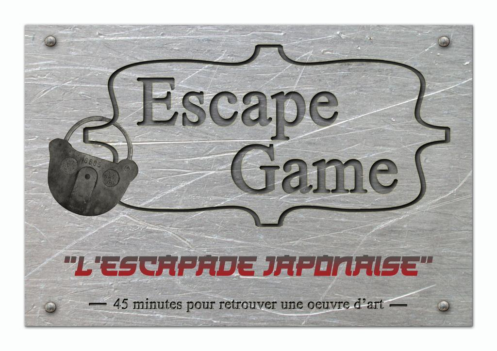 Escapade japonaise : escape game / Centre ludique de Boulogne-Billancourt |